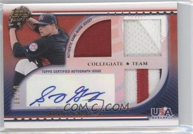 2010 Topps USA Baseball Team - Autograph Relics - Patches #USAAR-SGR - Sonny Gray /50