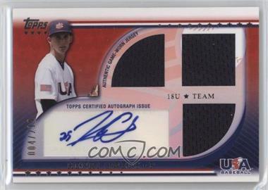 2010 Topps USA Baseball Team - Autograph Relics #USAAR-HO - Henry Owens /219