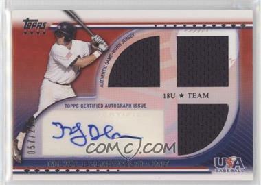 2010 Topps USA Baseball Team - Autograph Relics #USAAR-ND - Nicky Delmonico /219