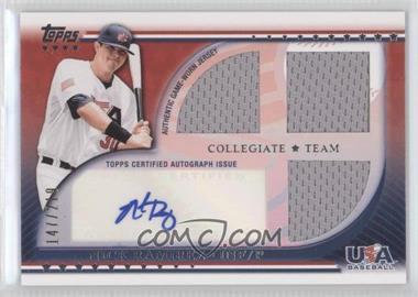 2010 Topps USA Baseball Team - Autograph Relics #USAAR-NR - Nick Ramirez /219
