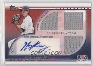 2010 Topps USA Baseball Team - Autograph Relics #USAAR-NRA - Noe Ramirez /219