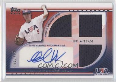 2010 Topps USA Baseball Team - Autograph Relics #USAAR-PP - Phillip Pfeifer /219