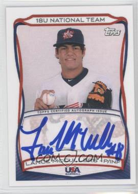 2010 Topps USA Baseball Team - Autographs #A-15 - Lance McCullers