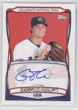 2010 Topps USA Baseball Team - Autographs #A-24 - Gerrit Cole
