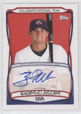 2010 Topps USA Baseball Team - Autographs #A-33 - Brad Miller
