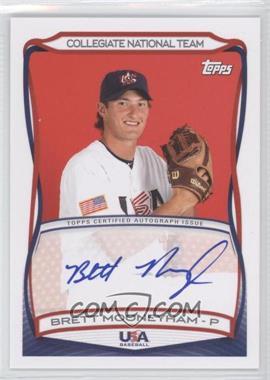 2010 Topps USA Baseball Team - Autographs #A-34 - Brett Mooneyham