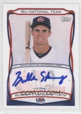 2010 Topps USA Baseball Team - Autographs #A-8 - Bubba Starling