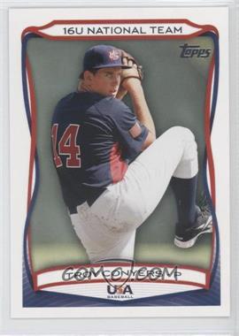 2010 Topps USA Baseball Team - [Base] #USA-52 - Troy Conyers