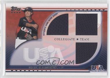 2010 Topps USA Baseball Team - Relics #USAR-NRA - Noe Ramirez