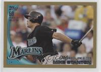 Giancarlo Stanton (Mike on Card) #/2,010