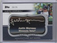 Justin Morneau [Noted] #/25