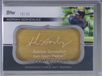 Adrian Gonzalez #/99