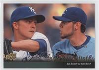 Zack Greinke, Joakim Soria (Kansas City Royals Team Checklist) /99