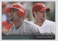 Albert Pujols, Adam Wainwright (St. Louis Cardinals Team Checklist)