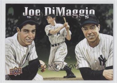 2010 Upper Deck - Baseball Heroes Joe DiMaggio. #BHA-JD - Joe DiMaggio (Checklist)
