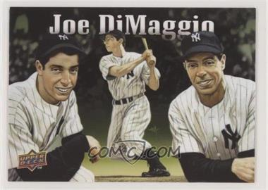 2010 Upper Deck - Baseball Heroes Joe DiMaggio. #BHA-JD - Joe DiMaggio (Checklist)