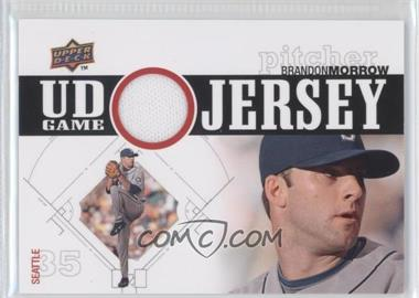 2010 Upper Deck - UD Game Jersey #UDGJ-BM - Brandon Morrow