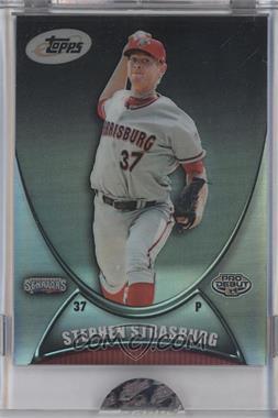 2010 eTopps Minor League Prospectus - [Base] #10 - Stephen Strasburg /1499