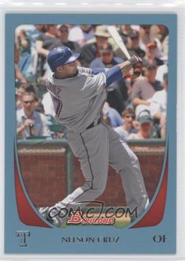 2011 Bowman - [Base] - Blue #148 - Nelson Cruz /500