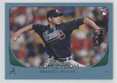 2011 Bowman - [Base] - Blue #204 - Brandon Beachy /500