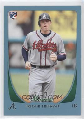 2011 Bowman - [Base] - Blue #205 - Freddie Freeman /500
