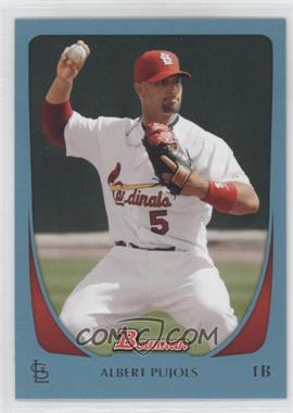 2011 Bowman - [Base] - Blue #6 - Albert Pujols /500