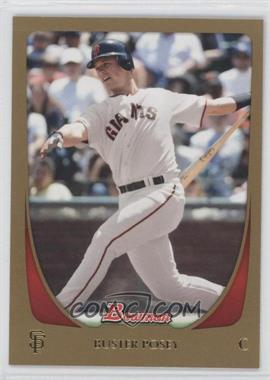 2011 Bowman - [Base] - Gold #1 - Buster Posey