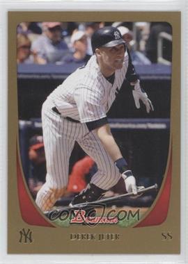 2011 Bowman - [Base] - Gold #145 - Derek Jeter