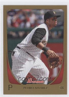 2011 Bowman - [Base] - Gold #156 - Pedro Alvarez