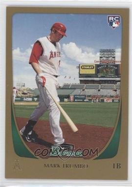 2011 Bowman - [Base] - Gold #193 - Mark Trumbo