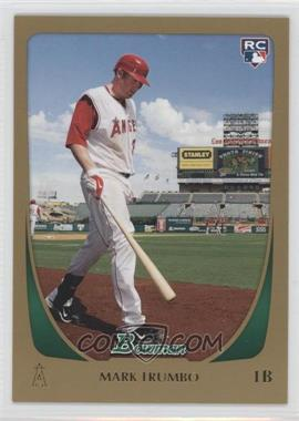2011 Bowman - [Base] - Gold #193 - Mark Trumbo