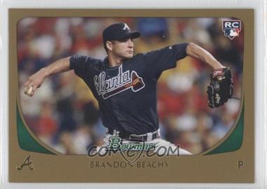 2011 Bowman - [Base] - Gold #204 - Brandon Beachy