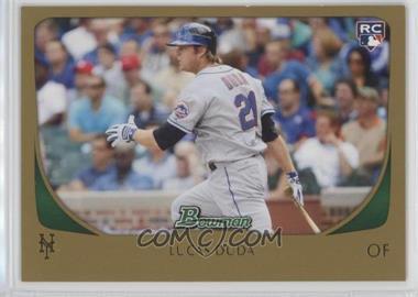 2011 Bowman - [Base] - Gold #217 - Lucas Duda