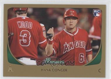 2011 Bowman - [Base] - Gold #219 - Hank Conger