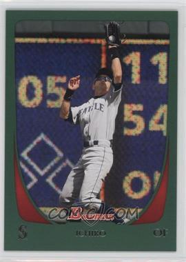 2011 Bowman - [Base] - Green #153 - Ichiro Suzuki /450