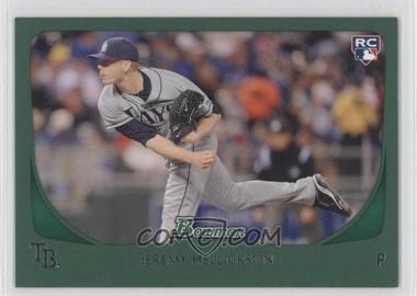 2011 Bowman - [Base] - Green #199 - Jeremy Hellickson /450