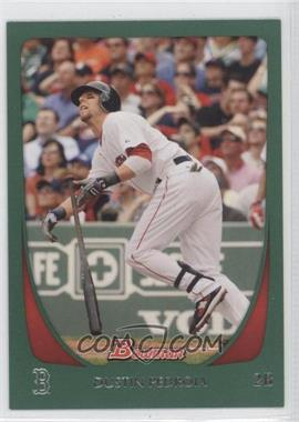 2011 Bowman - [Base] - Green #26 - Dustin Pedroia /450