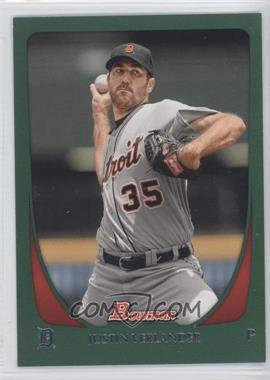 2011 Bowman - [Base] - Green #48 - Justin Verlander /450