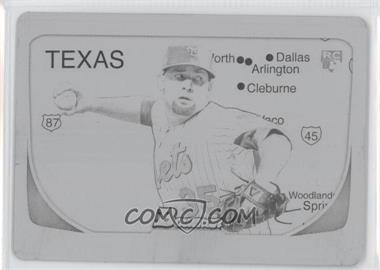 2011 Bowman - [Base] - International Printing Plate Black #212 - Dillon Gee /1