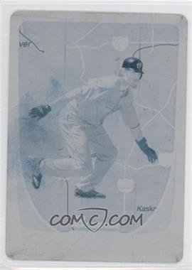 2011 Bowman - [Base] - International Printing Plate Cyan #121 - Jayson Werth /1