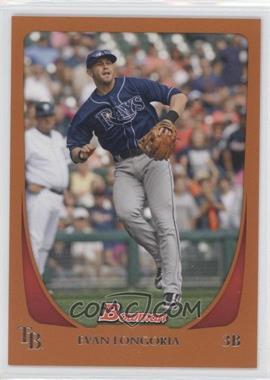 2011 Bowman - [Base] - Orange #109 - Evan Longoria /250