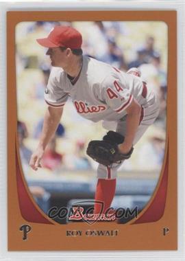 2011 Bowman - [Base] - Orange #163 - Roy Oswalt /250