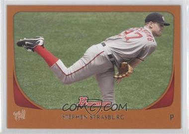 2011 Bowman - [Base] - Orange #179 - Stephen Strasburg /250