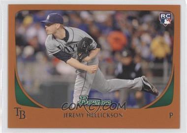 2011 Bowman - [Base] - Orange #199 - Jeremy Hellickson /250