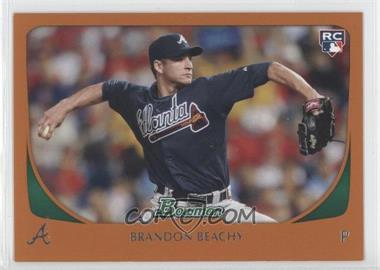 2011 Bowman - [Base] - Orange #204 - Brandon Beachy /250