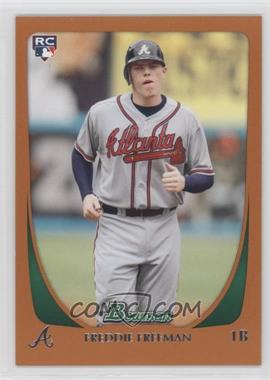 2011 Bowman - [Base] - Orange #205 - Freddie Freeman /250