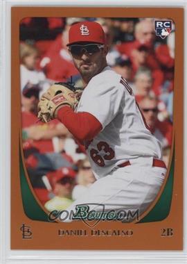 2011 Bowman - [Base] - Orange #215 - Daniel Descalso /250