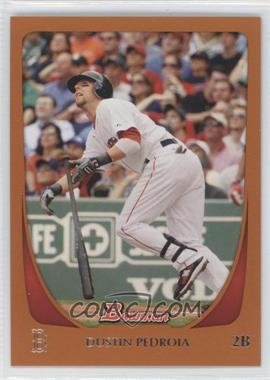 2011 Bowman - [Base] - Orange #26 - Dustin Pedroia /250