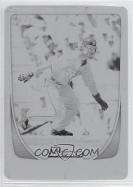 2011 Bowman - [Base] - Printing Plate Black #121 - Jayson Werth /1