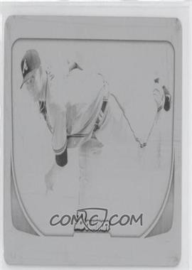 2011 Bowman - [Base] - Printing Plate Black #132 - Mike Minor /1